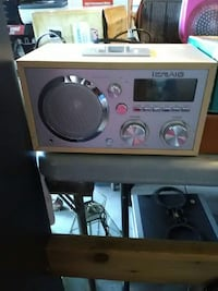 gray iCraig stereo component