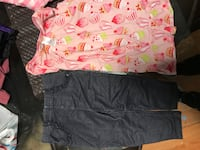 two gray and pink shorts Edmonton, T5P