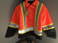 Safety Jacket XL also includes a Vest Brand New Vaughan, L4J 1L5