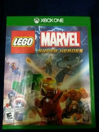 Xbox One Lego Marvel Super Heroes game case Washington, 20019