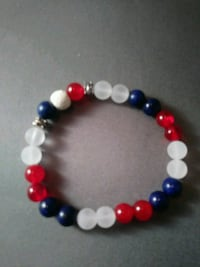Red ~White~Blue beaded bracelet Nashua, 03060