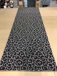 black and white floral area rug Lorton, 22079