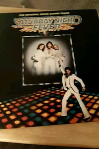 Saturday Night Fever vinyl albums