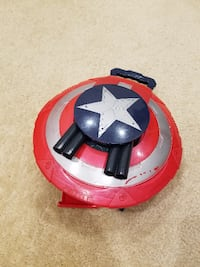 Captain America Marvel Super Soldier Gear Stealth Fire Shield Toy Springfield