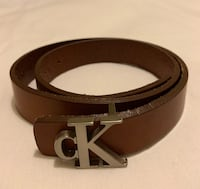 Brown leather belt by Calvin Klein - female size small Santa Ana, 92705