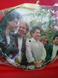The Cure collectible vinyl record Milwaukee, 53220