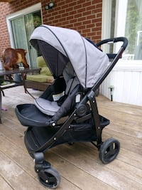 baby's black and gray stroller Toronto, M9M 0A3