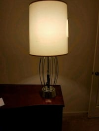 black and white table lamp Accokeek, 20607