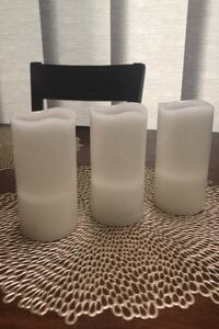 Set of 3-Flameless Candles