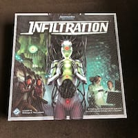 Android Infiltration board game COLLEGESTATION