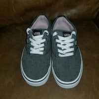 Vans off the walls dark grey with pattern colorway St. Louis, 63110