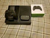 black Xbox One console with controller and game cases Mesa, 85213