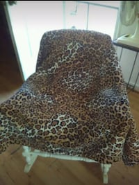 Cheetah  Shepa/Throw /Blanket Ladson, 29456