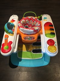 Fisher Price 4 in 1 Step & Play Piano Baby Activity Centre Pickering, L1W 2L5