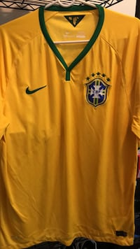 Nike Brazil home soccer jersey  New York, 11209