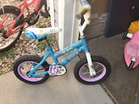 Tiny starter kids bicycle. Easy to balance. All serious offer will be considered. :) Fort Collins, 80526