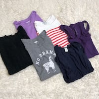 6 pc old navy bundle shirts dress tops large Rock Hill