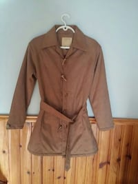 brown leather trench coat Brampton, L6T 2E3