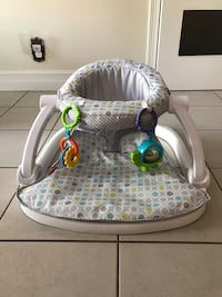 Fisher price Foldable Baby floor seat Laval, H7X 2N8