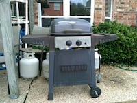 Charcoal and propane grill 1147 mi