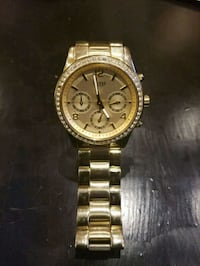 AUTHENTIC Guess ladies Chronograph Gold watch