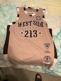 Throwback street basketball jersey 1961-1967 Concord, 94518