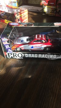 NHRA Pro Series Drag Racing car scale model