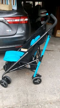 baby's black and blue stroller Minneapolis, 55422