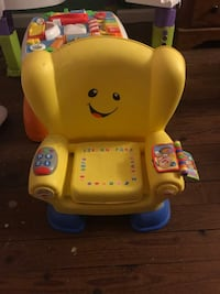 Fisher-Price laugh and learn smart stages chair null