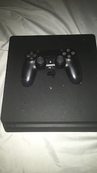black Sony PS4 console with controller Temple Hills, 20748