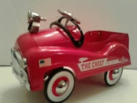 red The Chief ride-on toy Austin