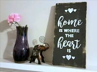 """""""Home"""" Hand-painted wooden sign home decor Toronto, M1M 2E1"""