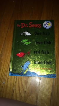 One fish two fish red fish blue fish - dr.seues book Cambridge, N1S 3S8