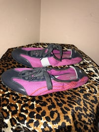 Pair of pink puma mesh laced shoes McAllen, 78504