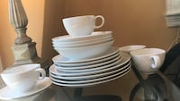 white ceramic plates and bowls North Andover, 01845