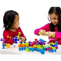 New Soft Building Blocks Kids DIY Silicone Block 536 km