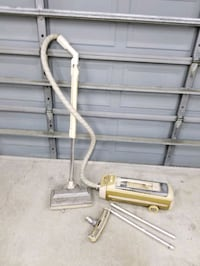 antique electrolux vacuum cleaner w/ bags