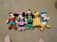 Mickey and Friends Plush toys