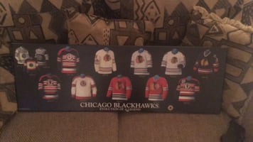 Chicago Blackhawks plaque
