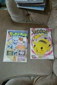 Pokemon Comics with Promo Pokemon Movie Cards Barrie, L4N 1E3