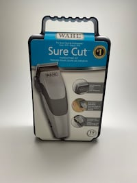 Wahl Sure Cut Clippers Haircut Kit 19pc set Trimmers
