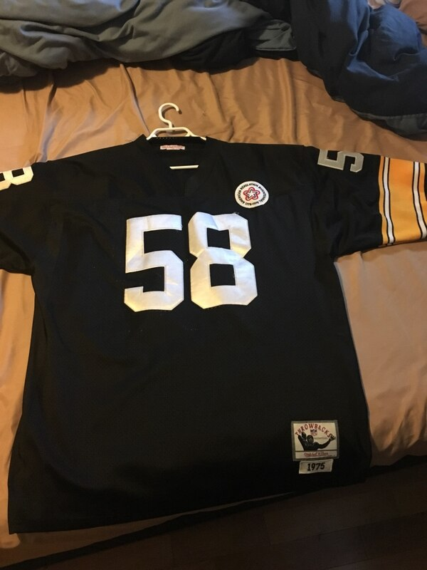 cc08a13774b Used Pittsburgh Steelers Jack Lambert Official Jersey for sale in ...
