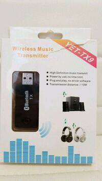 Wireless Music Transmitter Blue tooth  Dollard-des-Ormeaux, H9B 1Z6