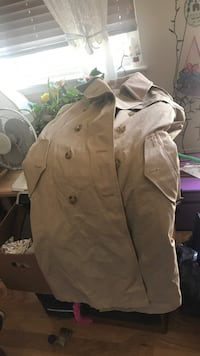 brown button-up jacket Rochester, 03867
