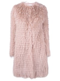 Red Valentino Midi Fur Coat size 36