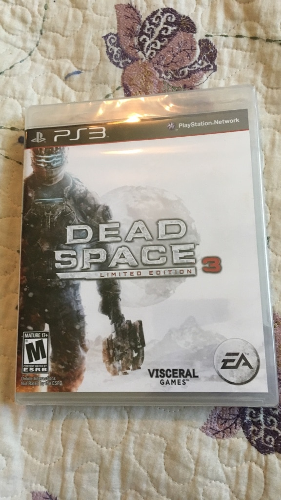 Dead space PS3 sealed in package