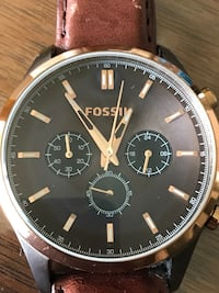 Fossil chronograph watch  3490 km