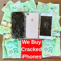 Sell Your Cracked iPhone $$$ London, N6H