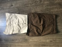 Shorts for women's size 12 $ 5.00 both Palmdale, 93550