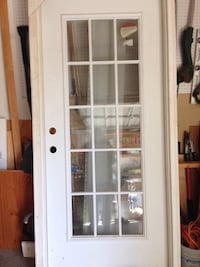 white wooden framed glass door Kensington, 20895